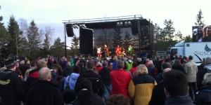 Anders, Njål, Kristian og de andre gutta rocker