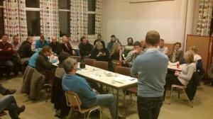 Ordføreren i dialog med innbyggere på Havnås.